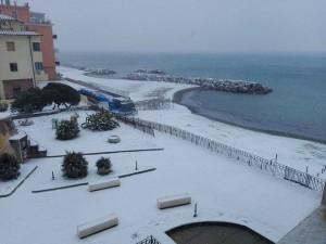 La spiaggia di Salerno