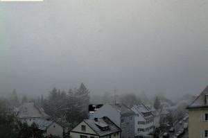 Intense nevicate nel sud della Germania