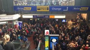 Disagi alla stazione di Amburgo