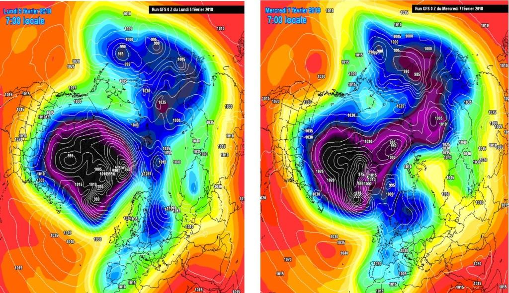 Alcuni passaggi modellistici che hanno permesso configurazioni bariche favorevoli alla neve su Europa centrale ed occidentale