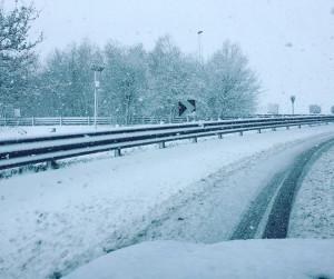 Freddo raggiunge il Nord: Neve fino in spiaggia tra Veneto e Emilia [FOTO] - Autostrada Jesolo