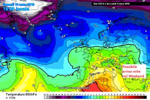 Ripetute ondate di Maltempo non mollano l'Italia: metà Settimana sarà perturbata! - Arrivo possibile aria mite weekend. Fonte: meteociel
