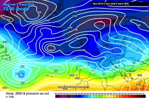 Ripetute ondate di Maltempo non mollano l'Italia: metà Settimana sarà perturbata! - Serie di perturbazioni . Fonte: meteociel