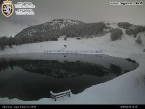 Webcam Chamois, Lago di Lod (2018 m.s.l.m.)