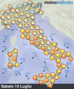 Il sahara punta l'Italia: weekend con tanto sole e caldo africano, temperature fino ai 40°! - impazza il caldo e tanto sole. Fonte: meteoindiretta