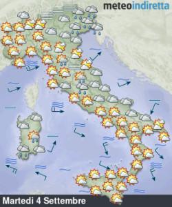 Maltempo ad inizio settimana, poi torna il sole e le temperature aumentano! - Si avvicina l'alta pressione e la stabilità. Fonte: meteoindiretta
