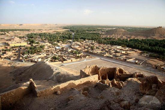 La città di Al-Mani'a.