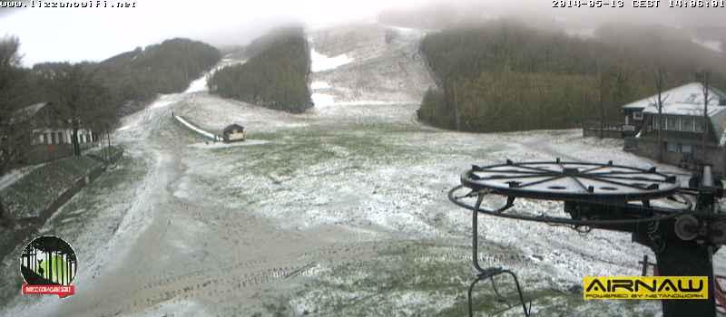 Webcam Corno alle Scale oggi pomeriggio.