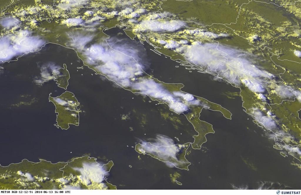 Ultima immagine satellitare disponibile