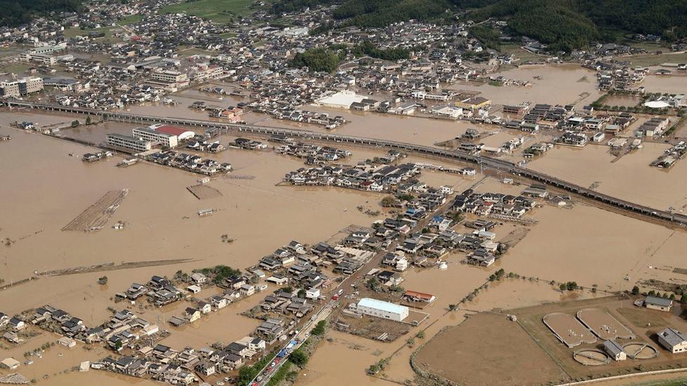Inondazioni nella prefettura di