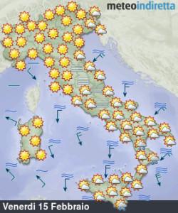 Weekend all'insegna di tanto sole: nord più caldo del sud, ecco i dettagli! - Tempo soleggiato nel weekend. Fonte: meteoindiretta