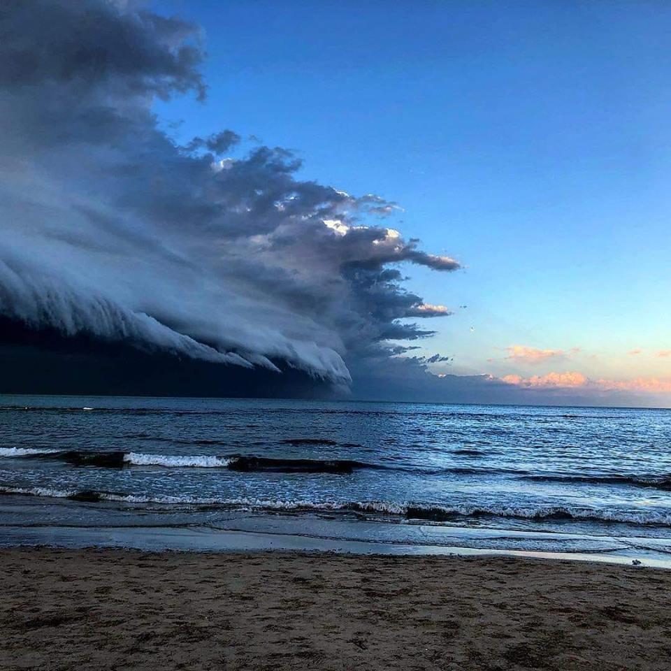 Shelf Cloud a Pescara, 11 Marzo